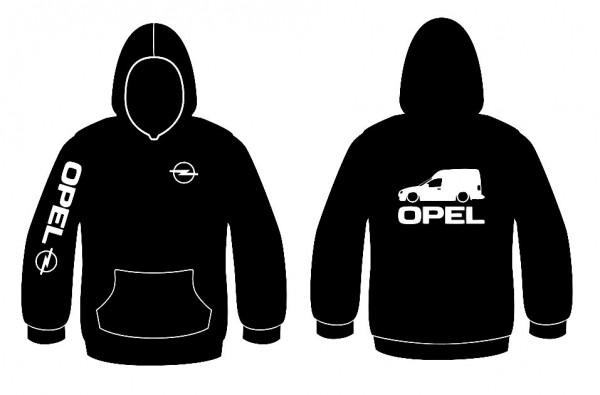Sweatshirt com capuz para Opel Combo B