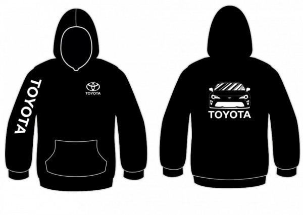 Sweatshirt com capuz para Toyota Cellica