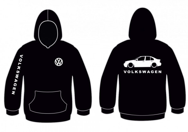 Imagens Sweatshirt com capuz para Volkswagen Bora