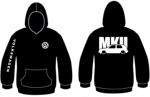 Imagens Sweatshirt com capuz para VW Golf MK2