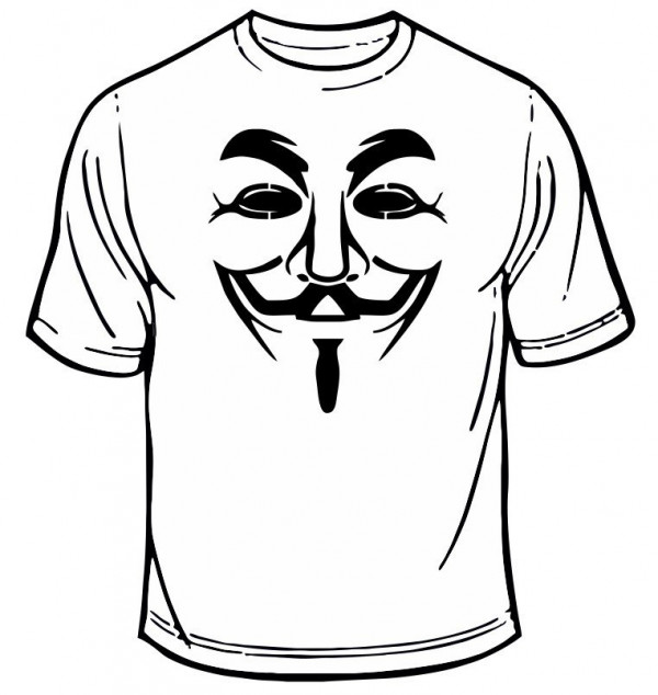 T-shirt - Anonymous