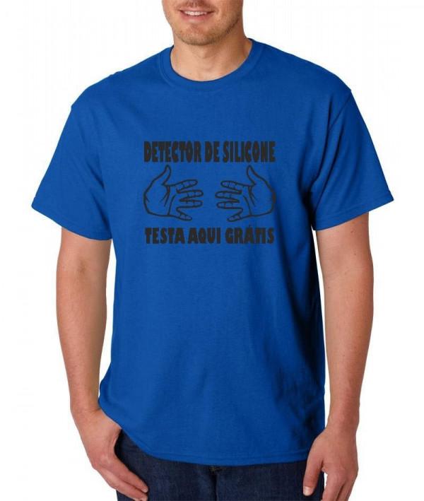 Imagens T-shirt  - Detector de Silicone