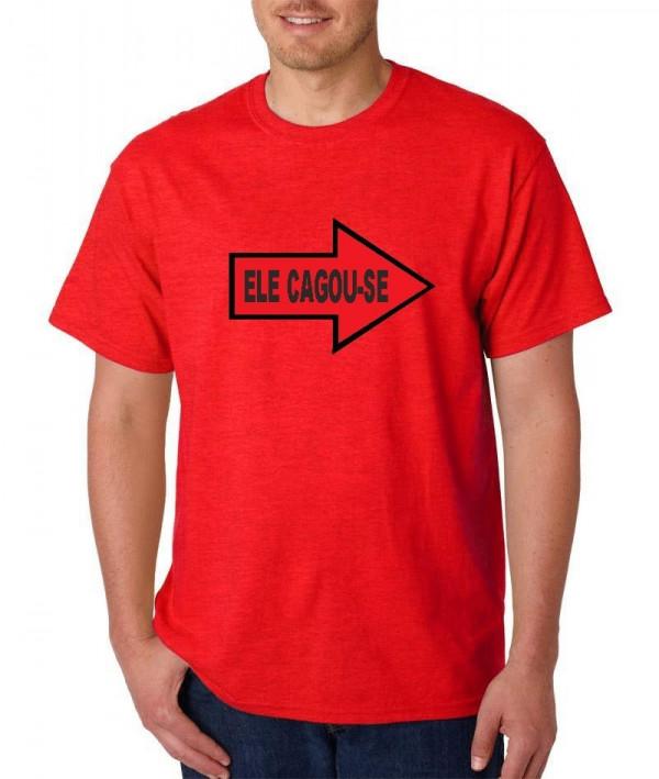 Imagens T-shirt  - Ele Cagou-se