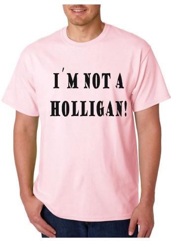Imagens T-shirt  - I'm Not A Holligan
