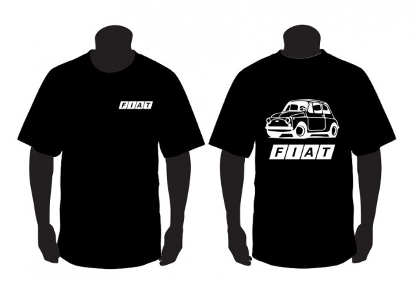 Imagens T-shirt para Fiat 500