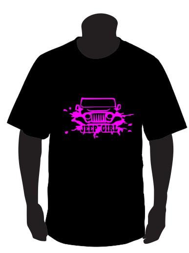 Imagens T-shirt para Jeep Girls