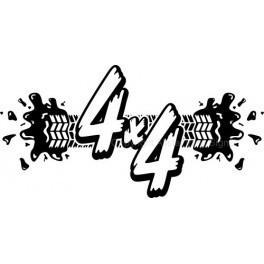 Autocolante - 4x4 Splash