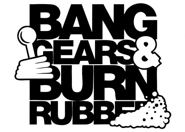 Imagens Autocolante - Bang gears e burn rubber