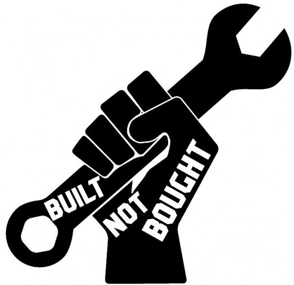 Autocolante - Build Not Bought
