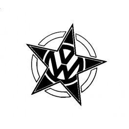 Autocolante com Estrela para VW