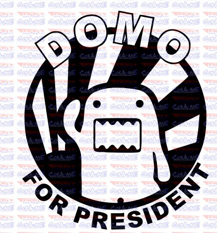 Autocolante - Domo For President