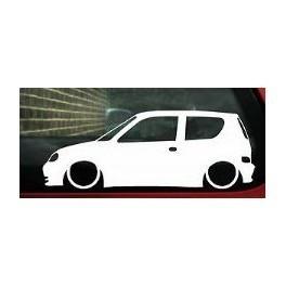 Autocolante - Fiat Seicento