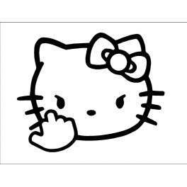 Autocolante - Hello Kitty 10