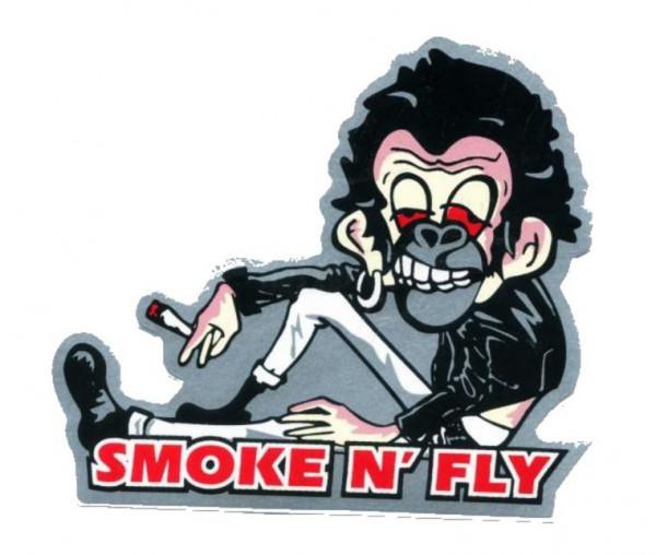 Imagens Autocolante Impresso - Smoke N' Fly