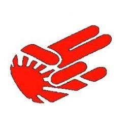 Autocolante - Mão JDM 2