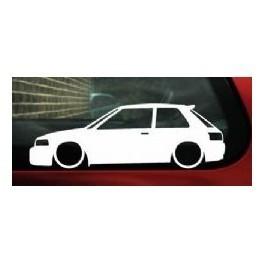 Autocolante - Mazda 323