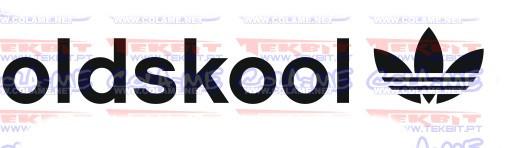 Autocolante - Old Skool