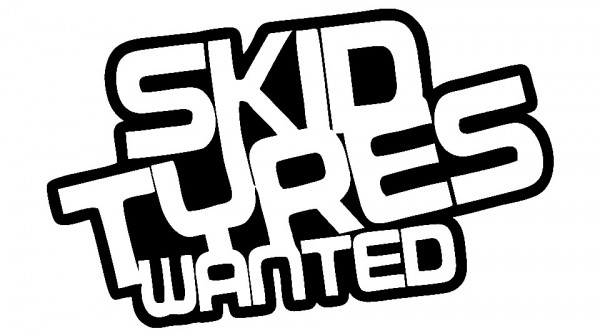 Imagens Autocolante - Skid tyres wanted