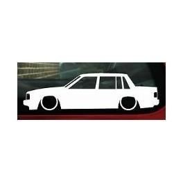 Autocolante - Volvo 740