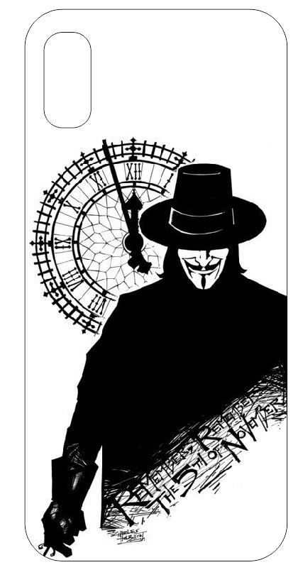 Imagens Capa de telemóvel com Remember Remember the 5th of November