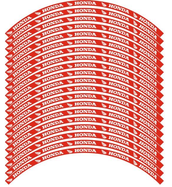 Imagens Conjunto de faixas para Jantes - Honda