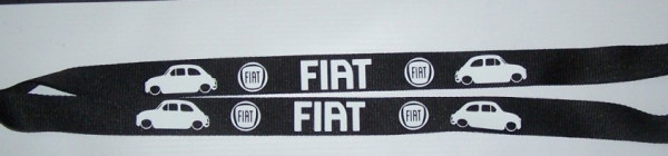 Fita Porta Chaves para Fiat 500