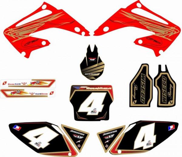 Kit Autocolantes Para Honda CR 125 250 02-07