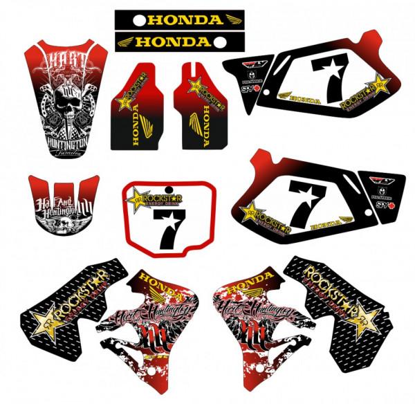 Kit Autocolantes Para Honda CR 250 - 95-96