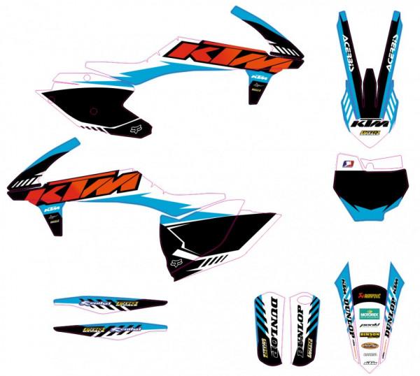 Kit Autocolantes Para Moto - KTM SX / SXF 16-18
