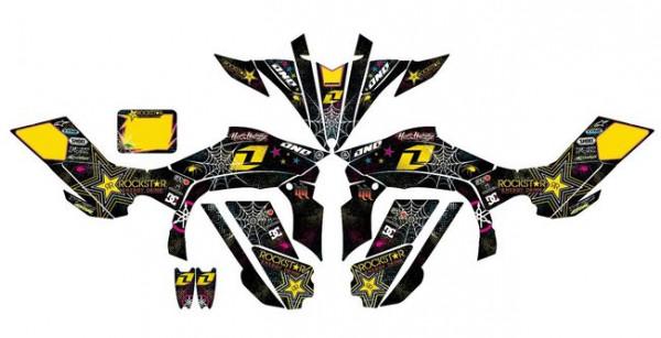 Imagens Kit Autocolantes Para Yamaha YFZ 450R 09-12
