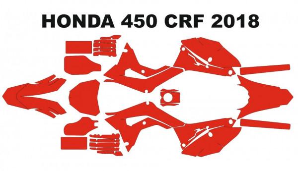 Molde - HONDA 450 CRF 2018