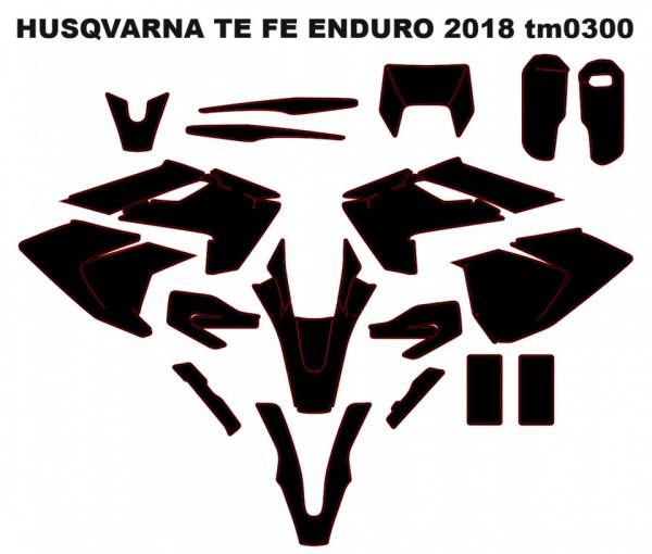 Imagens Molde HUSQVARNA TE FE ENDURO 2018