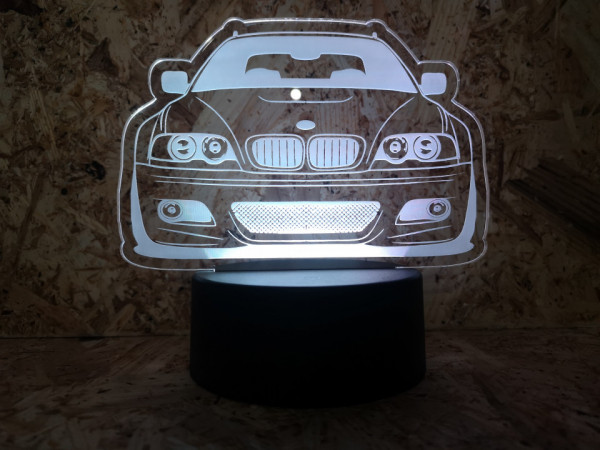 Imagens Moldura / Candeeiro com luz de presença - Bmw E46 Touring