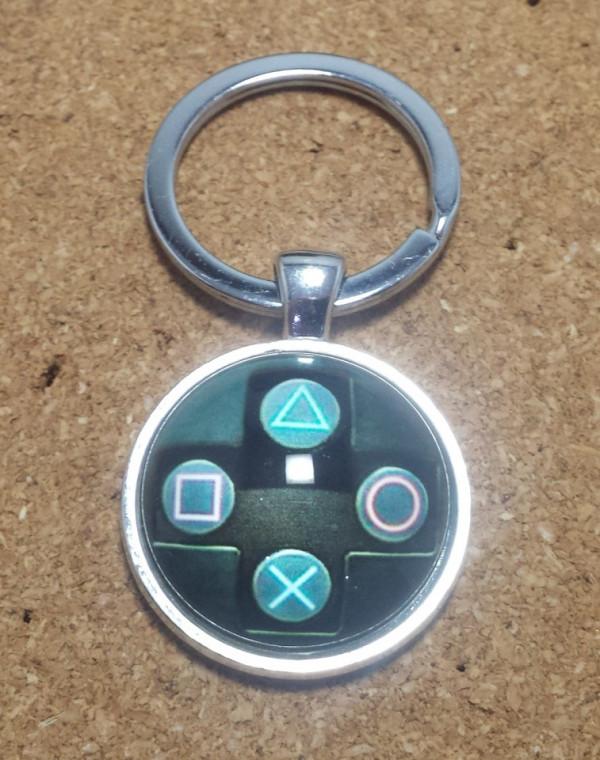 Porta Chaves - Botões estilo comando da playstation
