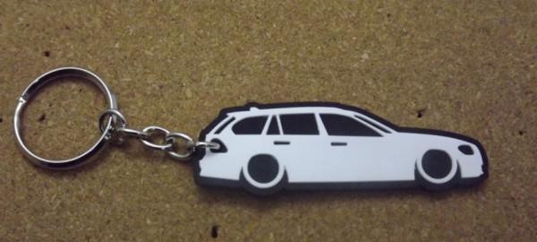 Porta Chaves com silhueta de BMW e91 - Série 3