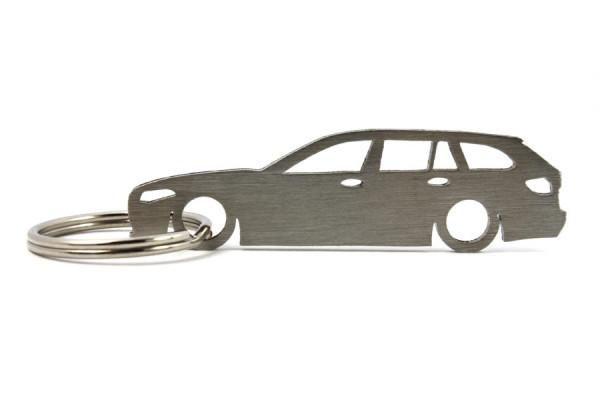 Porta Chaves em inox com silhueta com BMW F11 wagon