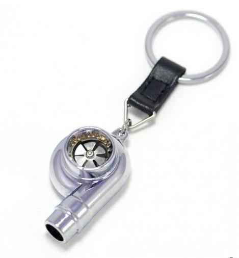Porta Chaves - Turbo (funcional) - Cromado