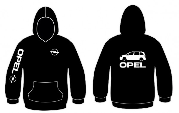 Imagens Sweatshirt com capuz para Opel Zafira