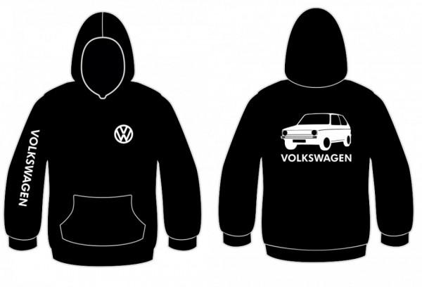 Imagens Sweatshirt com capuz para Volkswagen Golf I