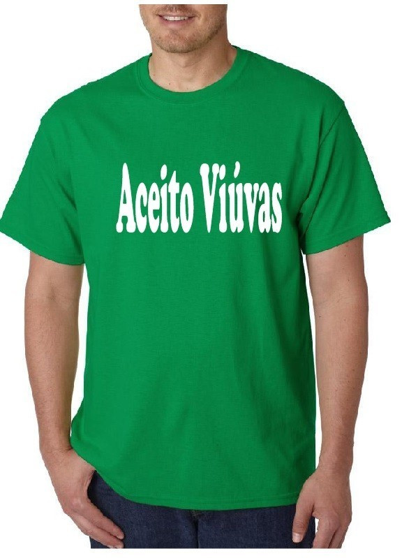 Imagens T-shirt - Aceito Viúvas