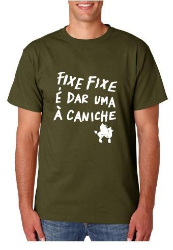 Imagens T-shirt  - Fixe Fixe é Dar Uma Á Caniche