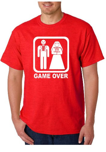 Imagens T-shirt  - Game Over
