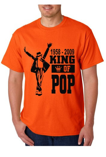 Imagens T-shirt  - King Of The Pop