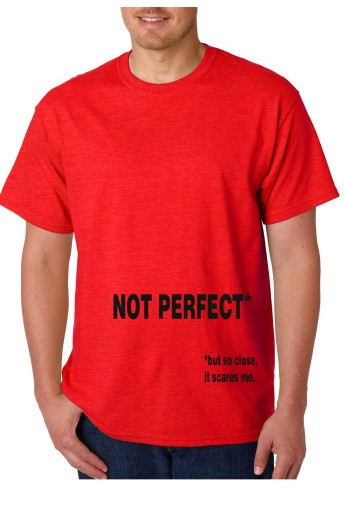 Imagens T-shirt  - NOT PERFECT But So Close