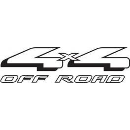 Autocolante- 4x4 Off Road