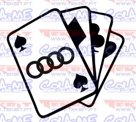 Imagens Autocolante- Cartas Audi