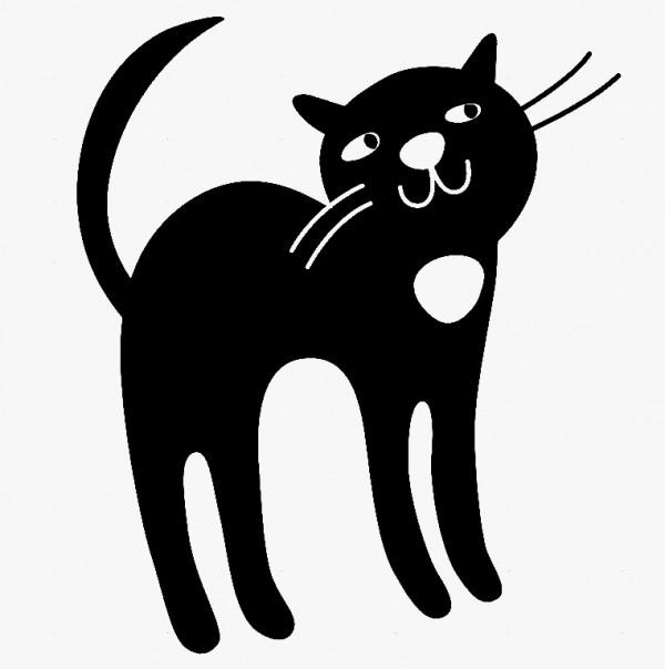 Autocolante - Gato