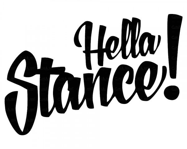 Imagens Autocolante - Hella Stance