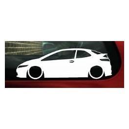 Autocolante - Honda Civic fn2