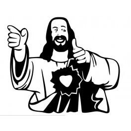 Autocolante - Jesus Nice